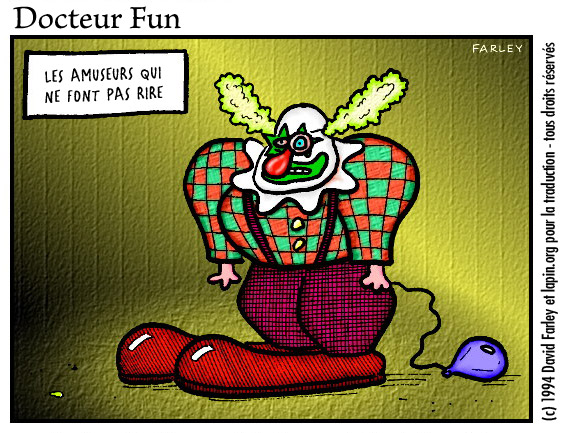 le clown pas drà´le