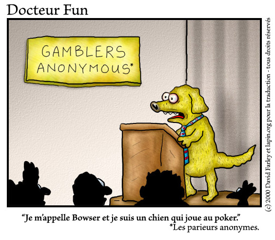 Parieurs anonymes